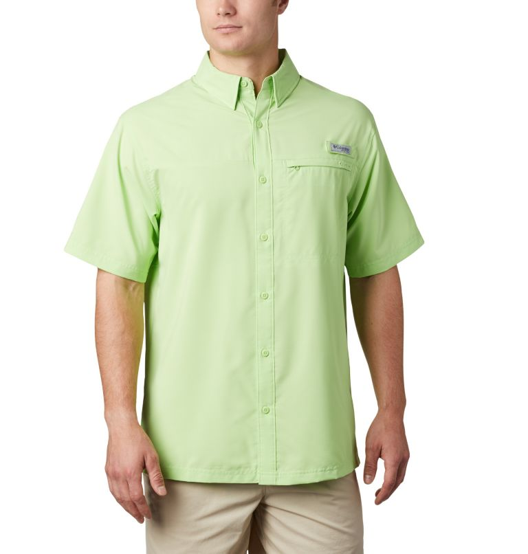 Men's PFG Grander Marlin™ Woven Short Sleeve Shirt Men's PFG Grander Marlin™ Woven Short Sleeve Shirt, front