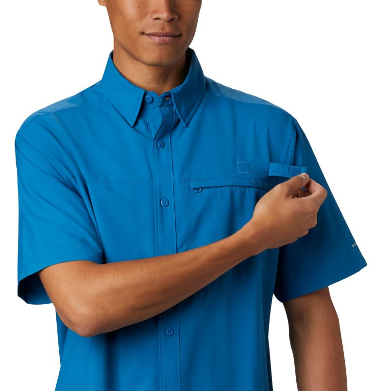 Men's PFG Grander Marlin™ Woven Short Sleeve Shirt Men's PFG Grander Marlin™ Woven Short Sleeve Shirt, a2
