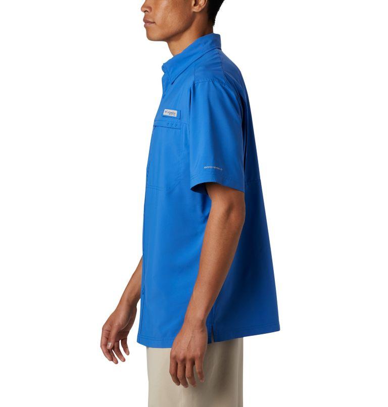 Grander Marlin™ Woven SS | 487 | S Men's PFG Grander Marlin™ Woven Short Sleeve Shirt, Vivid Blue, a1