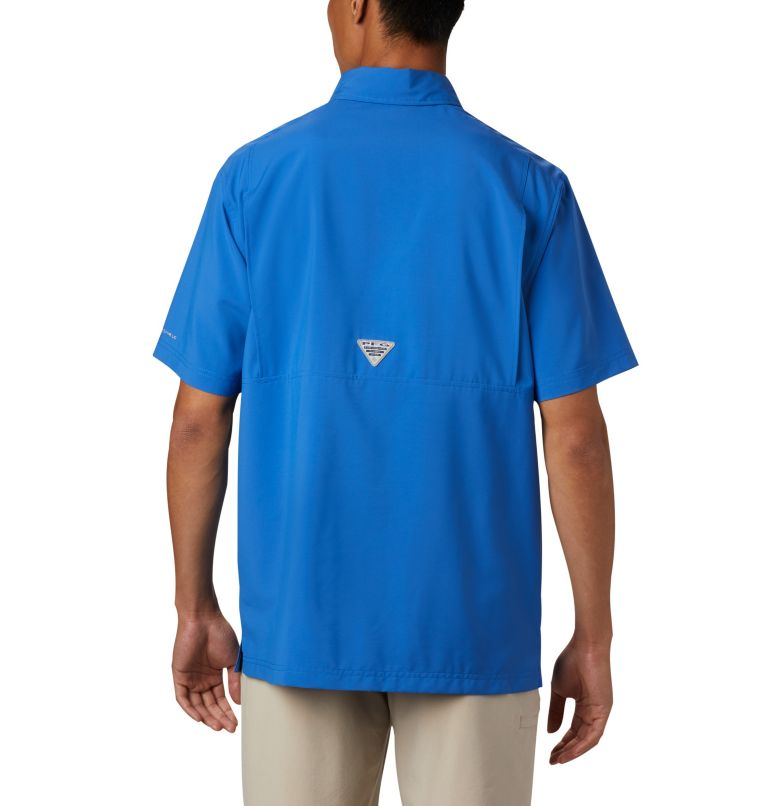 Men's PFG Grander Marlin™ Woven Short Sleeve Shirt Men's PFG Grander Marlin™ Woven Short Sleeve Shirt, back