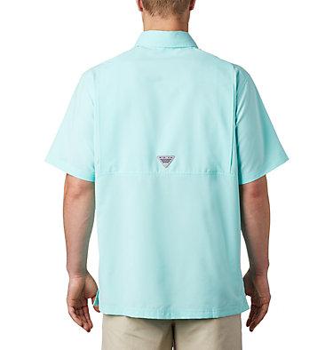 Men's PFG Grander Marlin™ Woven Short Sleeve Shirt Grander Marlin™ Woven SS | 487 | L, Gulf Stream, back