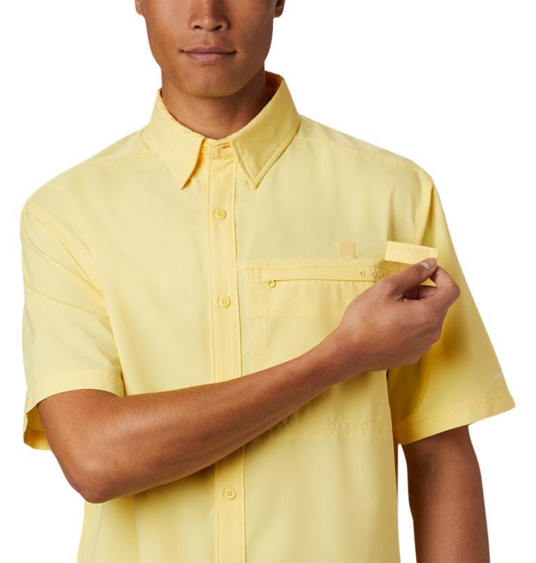 Grander Marlin™ Woven SS | 707 | S Men's PFG Grander Marlin™ Woven Short Sleeve Shirt, Sunlit, a3