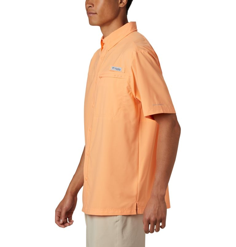Grander Marlin™ Woven SS | 873 | XXL Men's PFG Grander Marlin™ Woven Short Sleeve Shirt, Bright Nectar, a1