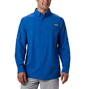Men's PFG Grander Marlin™ Woven Long Sleeve Shirt