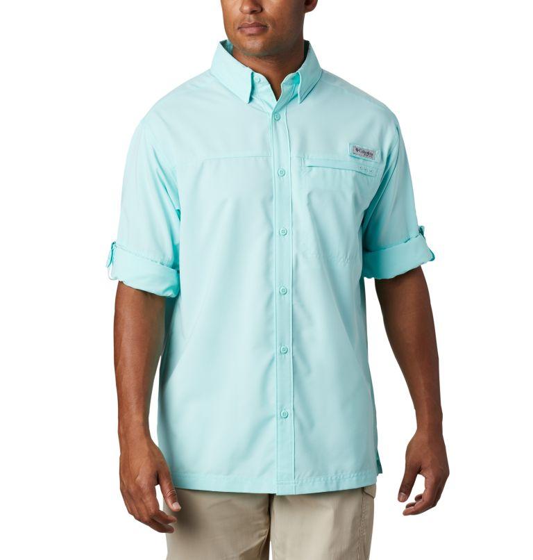 Grander Marlin™ Woven LS | 499 | L Men's PFG Grander Marlin™ Woven Long Sleeve Shirt, Gulf Stream, a1