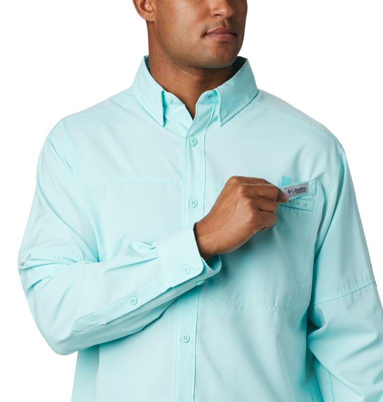 Grander Marlin™ Woven LS | 499 | L Men's PFG Grander Marlin™ Woven Long Sleeve Shirt, Gulf Stream, a2