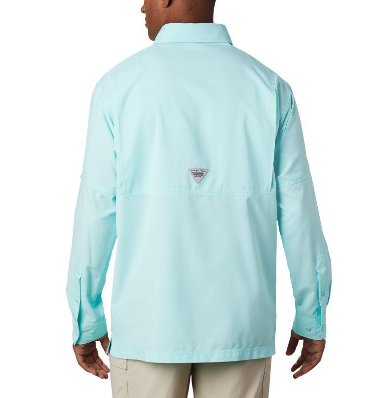 Grander Marlin™ Woven LS | 499 | L Men's PFG Grander Marlin™ Woven Long Sleeve Shirt, Gulf Stream, back
