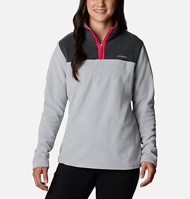 Women's Midnight Lake™ Quarter Zip Fleece Midnight Lake™ 1/4 Zip Fleece | 039 | L, Columbia Grey, Shark, front