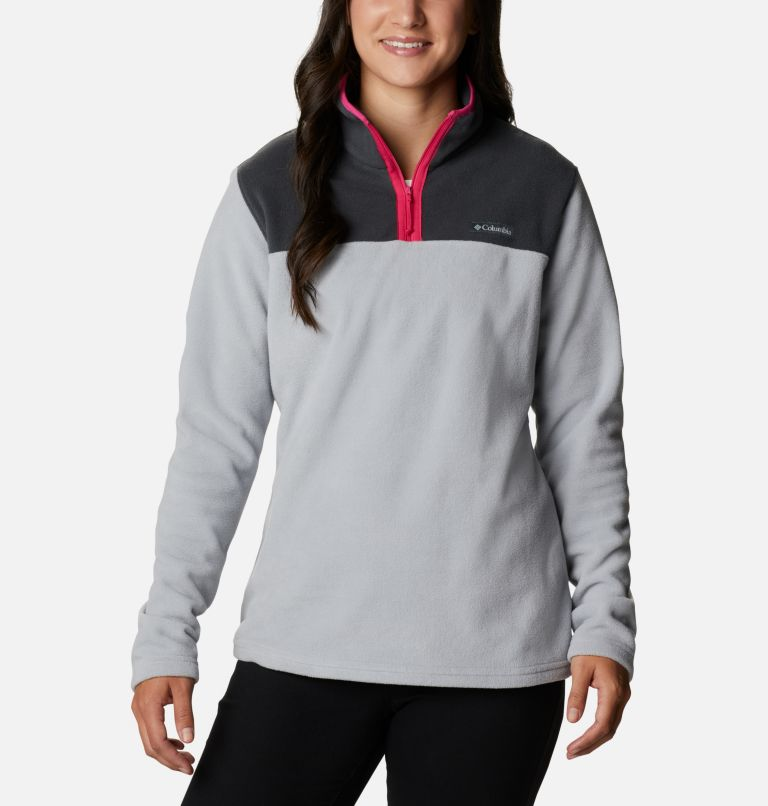 Women's Midnight Lake™ Quarter Zip Fleece Women's Midnight Lake™ Quarter Zip Fleece, front
