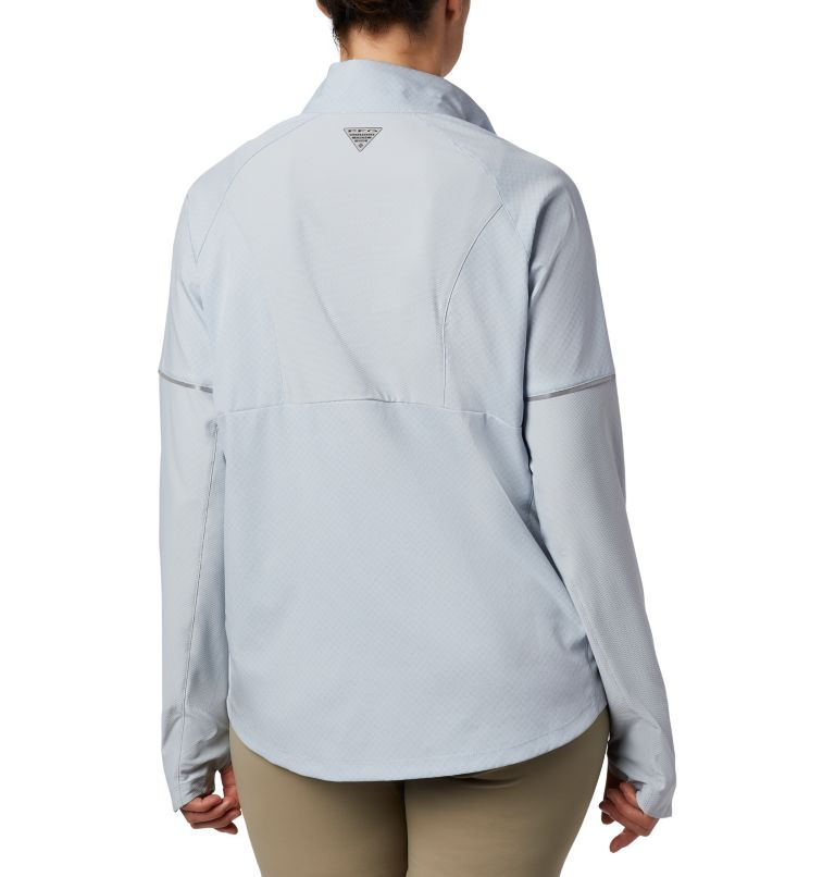 Women's PFG Ultimate Catch ZERO™ Long Sleeve Hybrid Shirt Women's PFG Ultimate Catch ZERO™ Long Sleeve Hybrid Shirt, back