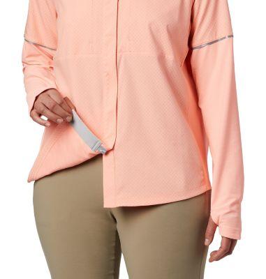 Women's PFG Ultimate Catch ZERO™ Long Sleeve Hybrid Shirt | Columbia Sportswear
