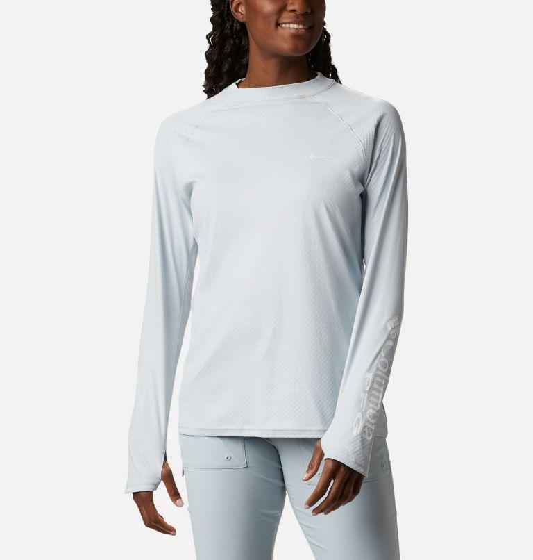 Women's PFG Tidal Deflector™ Zero Mock Long Sleeve Shirt Women's PFG Tidal Deflector™ Zero Mock Long Sleeve Shirt, front