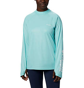 Women's PFG Tidal Deflector™ Zero Mock Long Sleeve Shirt
