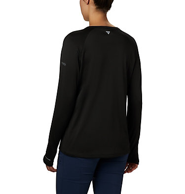Women's PFG Buoy™ Knit Long Sleeve Shirt W PFG Buoy™ Knit LS | 019 | L, Black, back