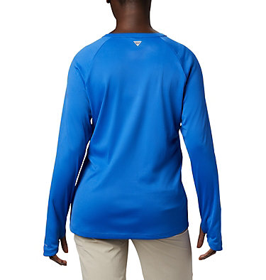 Women's PFG Buoy™ Knit Long Sleeve Shirt W PFG Buoy™ Knit LS | 019 | L, Vivid Blue, back