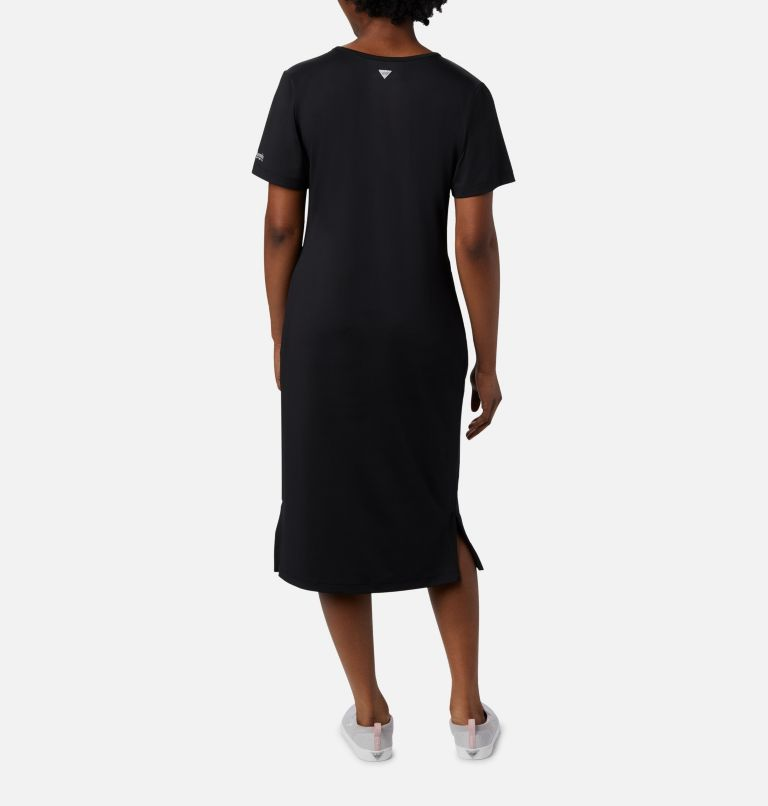 Freezer™ Mid Dress | 010 | XS Women's PFG Freezer™ Mid Dress, Black, back