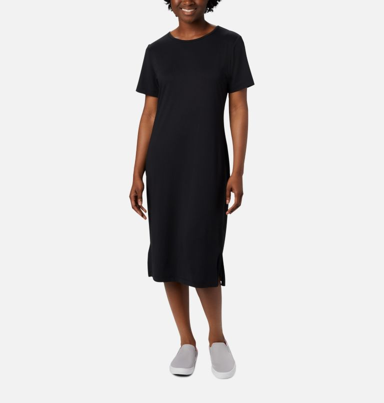Freezer™ Mid Dress | 010 | XS Women's PFG Freezer™ Mid Dress, Black, front