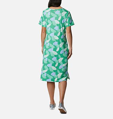 Women's PFG Freezer™ Mid Dress Freezer™ Mid Dress | 463 | L, Emerald City Ditsy Leaves Print, back