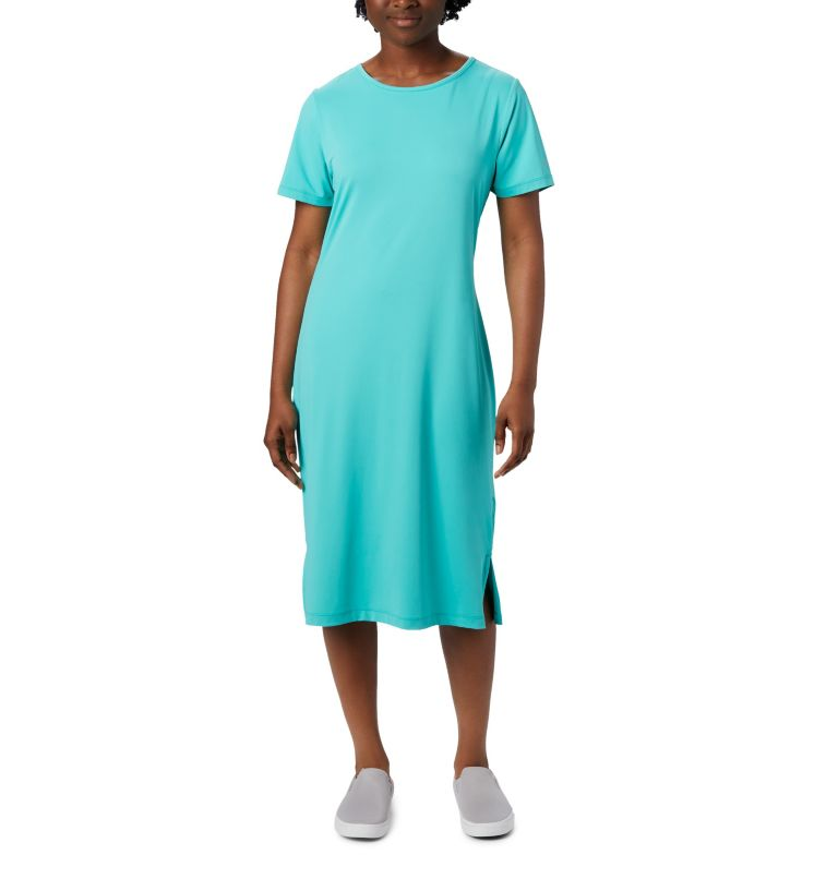 Freezer™ Mid Dress | 356 | M Women's PFG Freezer™ Mid Dress, Dolphin, front