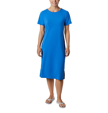Robe mi-longue PFG Freezer™ pour femme Freezer™ Mid Dress | 464 | S, Stormy Blue, front