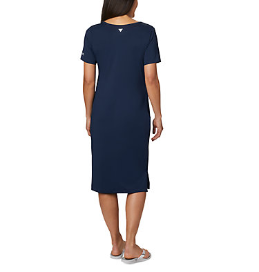 Robe mi-longue PFG Freezer™ pour femme Freezer™ Mid Dress | 464 | S, Collegiate Navy, back