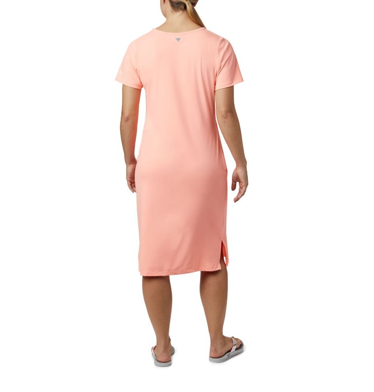 Freezer™ Mid Dress | 807 | M Women's PFG Freezer™ Mid Dress, Tiki Pink, back