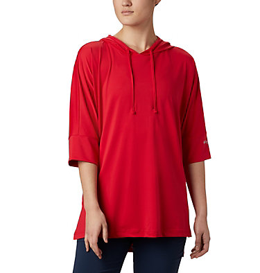 Women's PFG Freezer™ Cover Up Freezer™ Cover Up | 031 | L, Red Lily, front