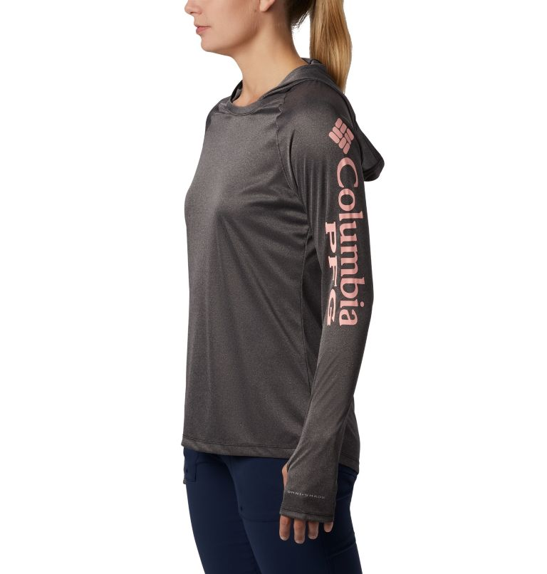 Women's PFG Tidal Tee™ Heather Hoodie Women's PFG Tidal Tee™ Heather Hoodie, a1