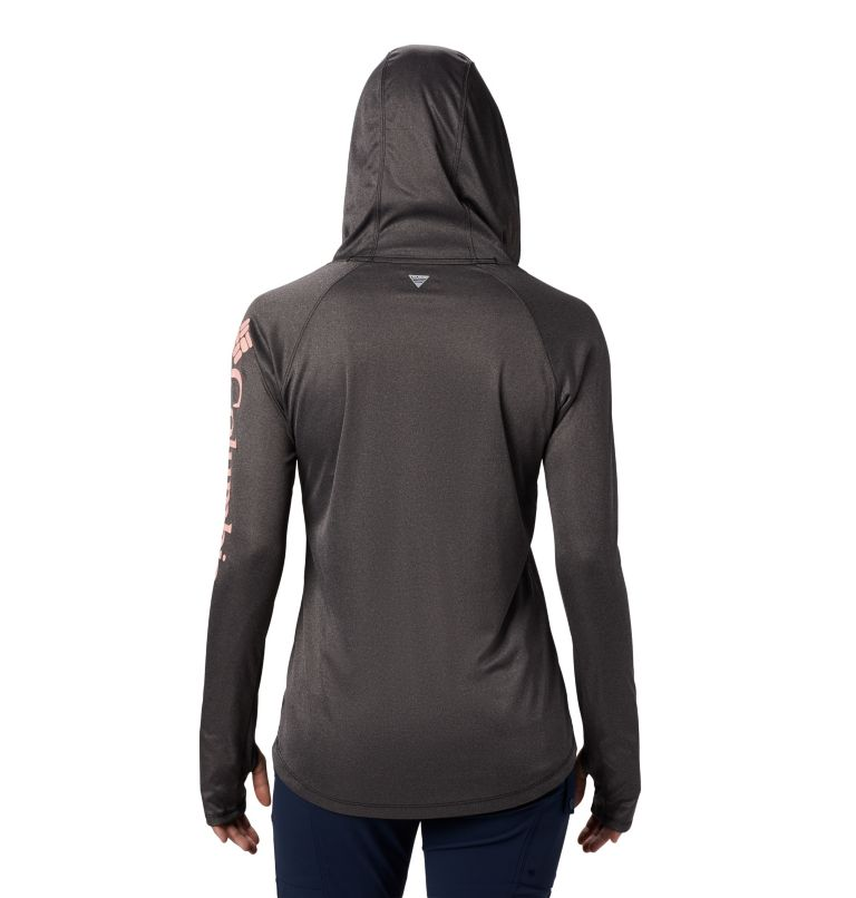 Women's PFG Tidal Tee™ Heather Hoodie Women's PFG Tidal Tee™ Heather Hoodie, back