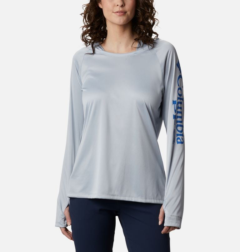 Women's PFG Tidal Tee™ Heather Hoodie Women's PFG Tidal Tee™ Heather Hoodie, front