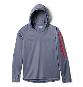 Women's PFG Tidal Tee™ Heather Hoodie – Plus Size