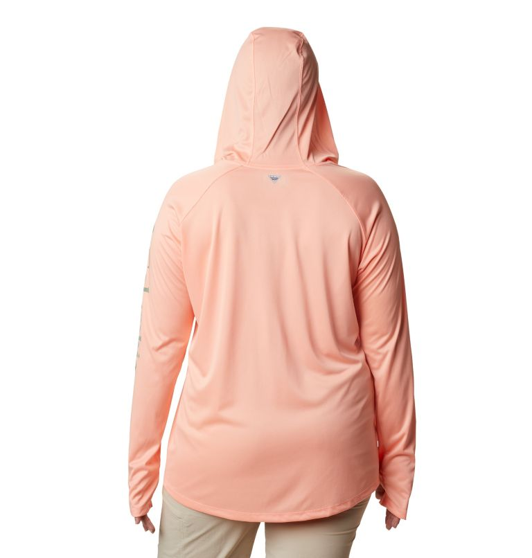 Tidal Tee™ Heather Hoodie - Plus Size Tidal Tee™ Heather Hoodie - Plus Size, back