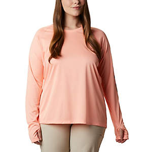 Tidal Tee™ Heather Hoodie - Plus Size