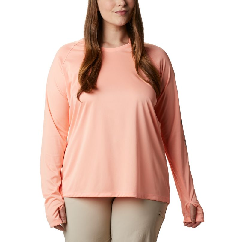Tidal Tee™ Heather Hoodie - Plus Size Tidal Tee™ Heather Hoodie - Plus Size, front