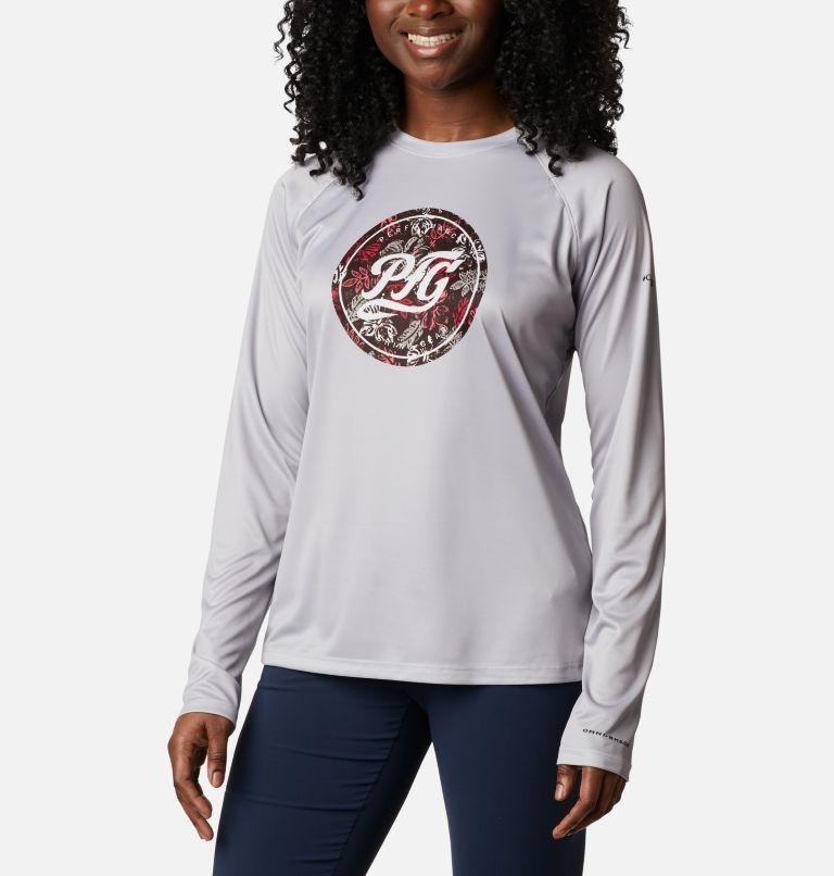 Women's PFG Tidal™ Printed Medallion Long Sleeve T-Shirt Women's PFG Tidal™ Printed Medallion Long Sleeve T-Shirt, front