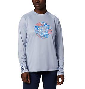 Women's PFG Tidal™ Printed Medallion Long Sleeve T-Shirt