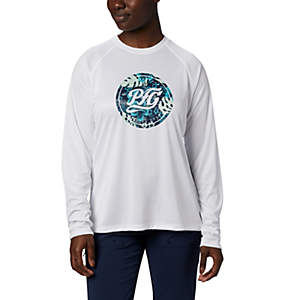 Women's PFG Tidal™ Printed Medallion Long Sleeve T-Shirt