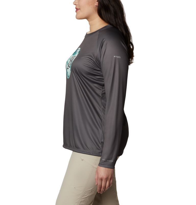 Women's PFG Tidal™ Printed Medallion Long Sleeve T-Shirt – Plus Size Women's PFG Tidal™ Printed Medallion Long Sleeve T-Shirt – Plus Size, a1