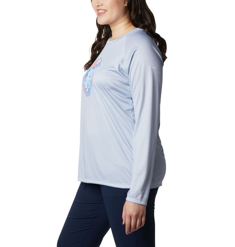 Women's PFG Tidal™ Printed Medallion Long Sleeve T-Shirt – Plus Size Women's PFG Tidal™ Printed Medallion Long Sleeve T-Shirt – Plus Size, a1
