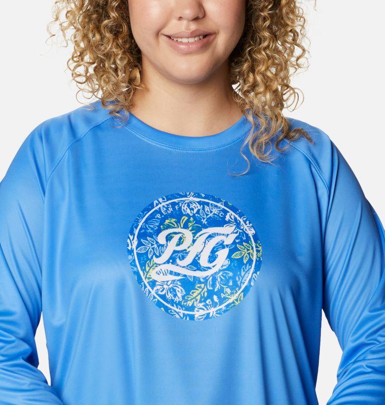 Women's PFG Tidal™ Printed Medallion Long Sleeve T-Shirt – Plus Size Women's PFG Tidal™ Printed Medallion Long Sleeve T-Shirt – Plus Size, a2