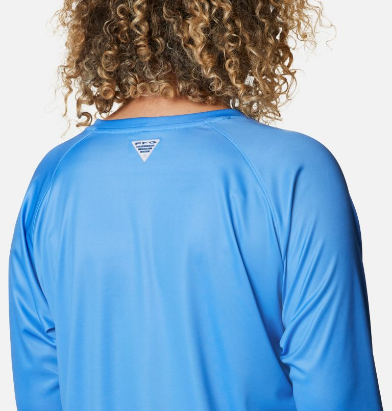 Women's PFG Tidal™ Printed Medallion Long Sleeve T-Shirt – Plus Size Women's PFG Tidal™ Printed Medallion Long Sleeve T-Shirt – Plus Size, a3