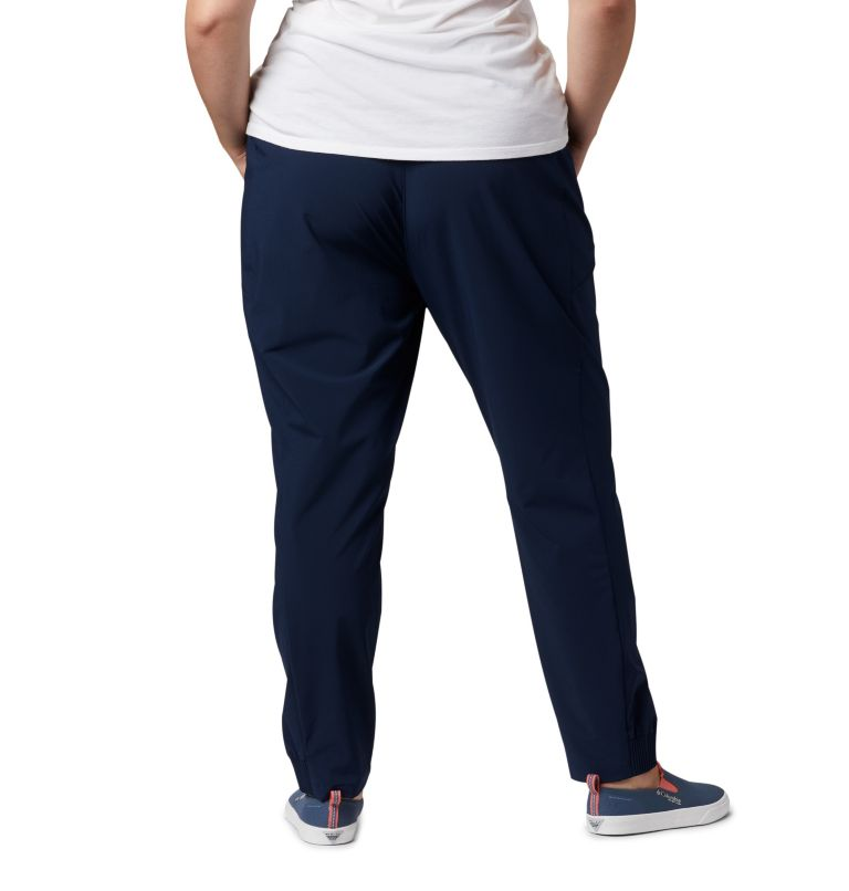 Tidal™ II Pant | 464 | 3X Women's PFG Tidal™ II Pants - Plus Size, Collegiate Navy, back