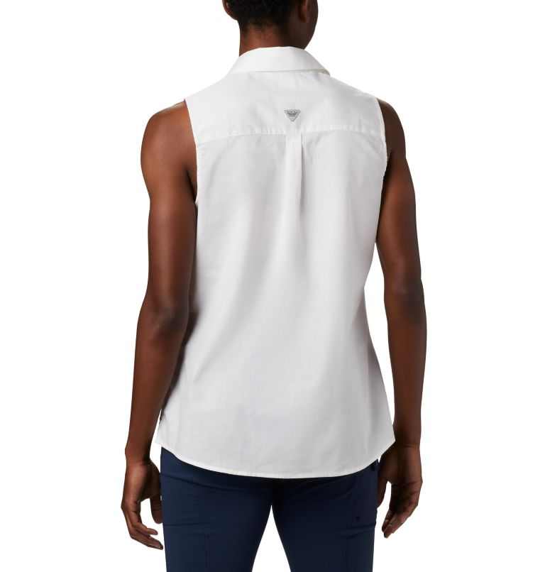 Women's PFG Bonehead™ Stretch Sleeveless Shirt Women's PFG Bonehead™ Stretch Sleeveless Shirt, back