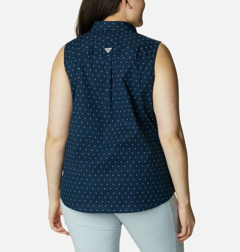 Women's PFG Bonehead™ Stretch Sleeveless Shirt – Plus Size Women's PFG Bonehead™ Stretch Sleeveless Shirt – Plus Size, back
