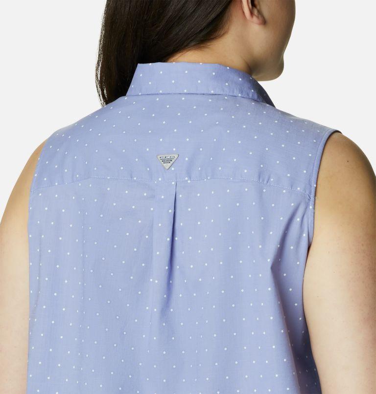 Women's PFG Bonehead™ Stretch Sleeveless Shirt – Plus Size Women's PFG Bonehead™ Stretch Sleeveless Shirt – Plus Size, a4