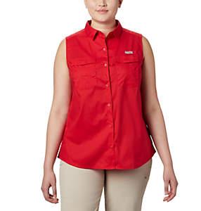 Women's PFG Bonehead™ Stretch Sleeveless T-Shirt – Plus Size