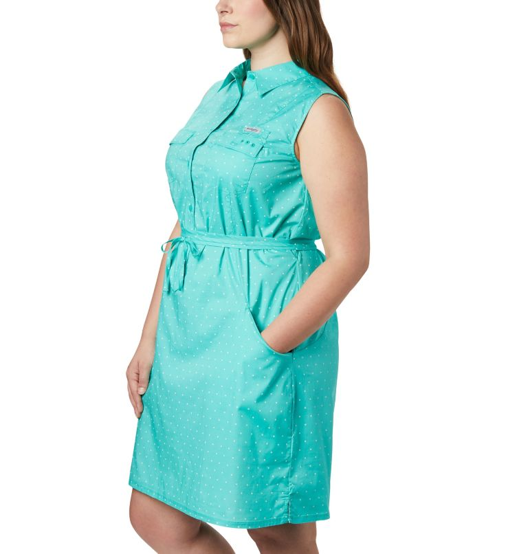 Women's PFG Bonehead™ Stretch Sleeveless Dress – Plus Size Women's PFG Bonehead™ Stretch Sleeveless Dress – Plus Size, a1