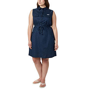 Women's PFG Bonehead™ Stretch Sleeveless Dress – Plus Size