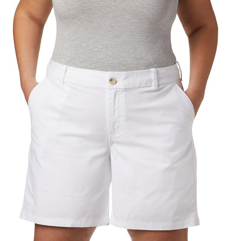 W Bonehead™ Stretch Short | 100 | 18W Women's Bonehead™ Stretch Shorts, White, a1