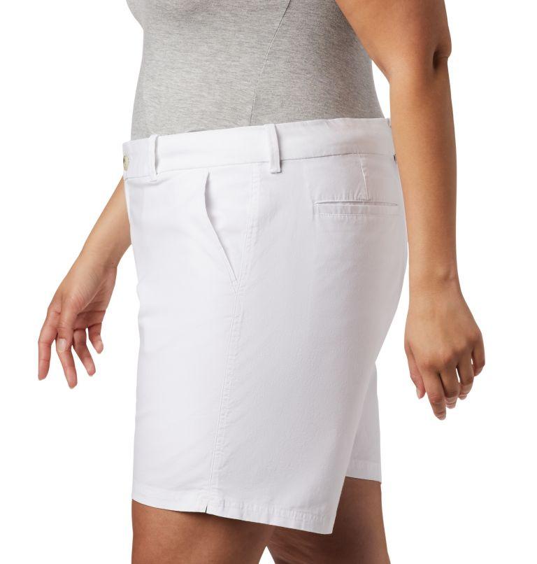 W Bonehead™ Stretch Short | 100 | 18W Women's Bonehead™ Stretch Shorts, White, a2